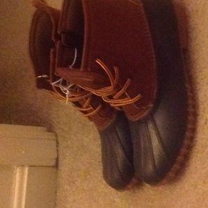 Boots rain or snow